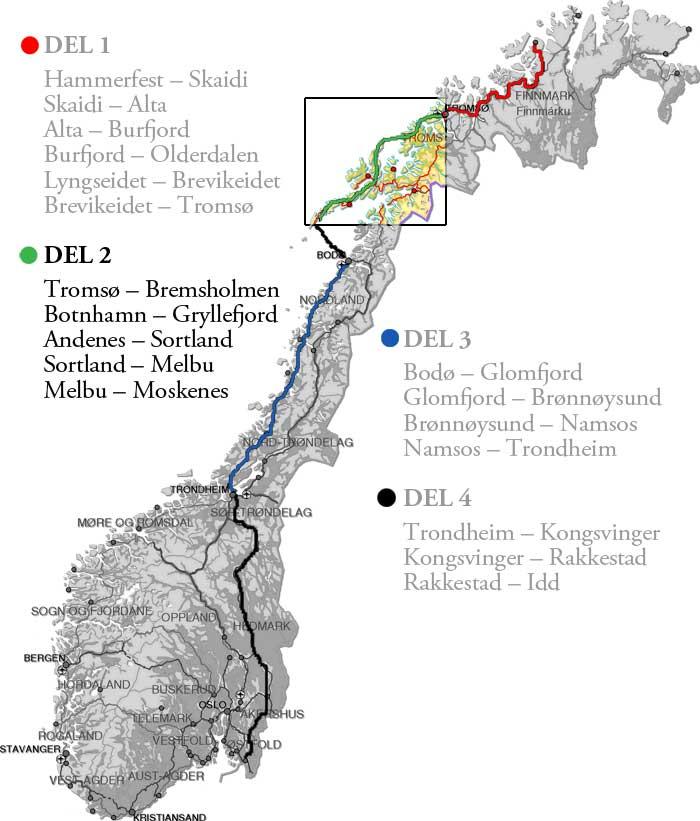 bodø kart 2: Tromsø – Bodø | Hanne på tur bodø kart